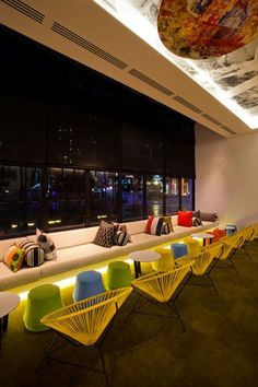 Nic Graham & Associates have designed the interior of the QT Hotel Gold Coast located in Queensland, Australia.
