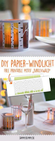 So bastelst du ein DIY Windlicht aus Papier selber. Windlicht, Windlicht diy, Windlicht basteln, Kerzendeko, Kerzen gestalten, Basteln mit Kerzen, Kerzen diy, Sommerliche Deko, Sommerparty, Sommerdeko diy