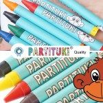 Partituki Party Favours for Children. Boxes with 7 Assorted Crayons per Box. Non Toxic EU Certified Art Themed Party, Art Party, Emoji Pinata, Lego Pinata, Pack Of Crayons, Pinata Fillers, Party Giveaways, Crayon Set, Party Banners