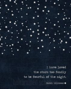 Digital Art Print I Have Loved the Stars Too por hairbrainedschemes