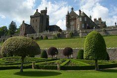 Scotland, Castle, Fantasy, Mansions, House Styles, Building, Image, Imagination, Villas