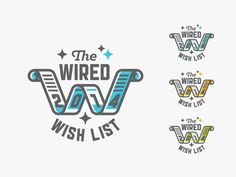 The Wired Wish List, 2014 by Kendrick Kidd #LogoDesign
