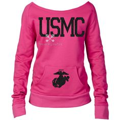 Usmc Girlfriend Usmc Wife Marine Wife Usmc Mom Marine Mom Marine... ($30) ❤ liked on Polyvore featuring tops, grey, hoodies, sweatshirts, women's clothing, glitter tops, grey top, gray top and sweater pullover