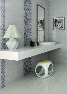 Bathroom interior design made of Zorka Keramika Tiles - Emotion
