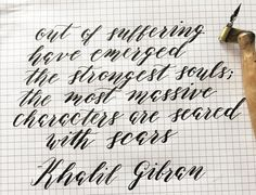 Five Modern Calligraphy FAQs   The Postman's Knock
