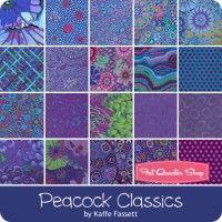 Peacock Classics Design RollKaffe Fassett Collective for Westminster Fibers & Fabrics