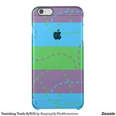Vanishing Trails B/P/G Uncommon Clearly™ Deflector iPhone 6 Plus Case
