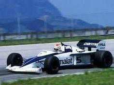 Nelson Piquet winner of the 1983 Brazilian Grand Prix driving a Brabham-BMW.