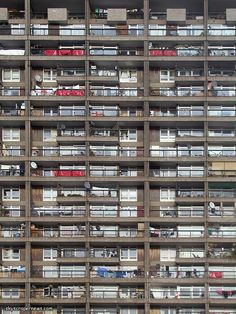 Trellick Tower, Maida Vale, London; 1966-72 by Ernö Goldfinger for the Greater London Council.