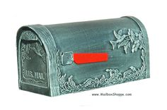The Hummingbird Cast Mailbox is a solid cast aluminum post mount mailbox available in 8 colors with an optional newspaper holder. Unique Mailboxes, Mounted Mailbox, Hummingbird, Diys, It Cast, Walls, Dreams, Decor, Decoration