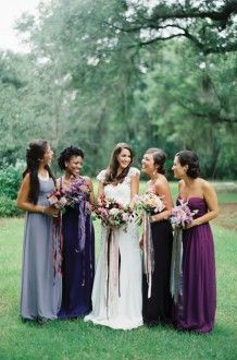 Blackberry Beauty - Southern Weddings Magazine
