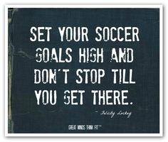 #Soccer #quote for #sports #motivation George Fox University Women's Soccer. August 19 will be my day.