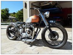 1970 Triumph Bonneville | Black Plate Motorbykes