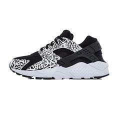 Nike | Huarache Run Print (GS) Black