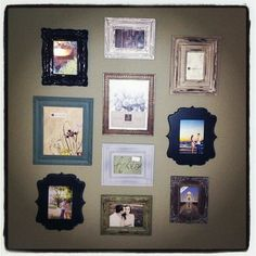 Picture Frame Collage, a must do! I love it!