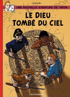 Le troisième dessin, signé Jehem, prévu pour la couverture du recueil Les Disparus de Moulinsart