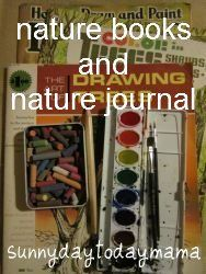 Nature Journal inspiration and more nature books http://sunnydaytodaymama.blogspot.co.uk/2012/03/nature-journal-inspiration-and-more.html
