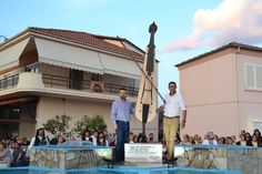 e-Pontos.gr: Μία Ποντιακή λύρα 2,5 μέτρων κοσμεί πλέον την Άρδα...