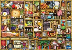 Ravensburger The Curious Cupboard The Kitchen Cupboard Jigsaw Puzzle (1000 Piece): Amazon.co.uk: Toys & Games