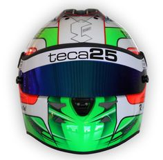 #Teca25 helmet by #Schuberth for #Riccardo #Agostini - front view
