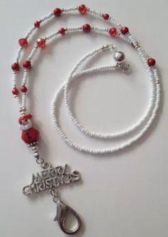 Beaded Lanyards, Id Badge Holders, Eye Glasses, Keychains, Jewelery, Beading, Personalized Items, Pendant, Winter