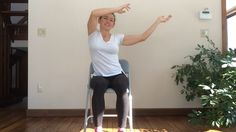 Fun and Playful - Viki leads this 30-min Chair Yoga Seated class