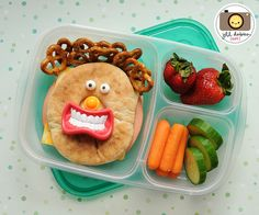 I can't wait to do things like this to H-Trains' lunch. haha!
