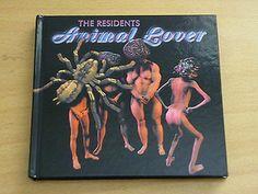 THE RESIDENTS - Animal Lover - 2 x CD in HARDBACK BOOK