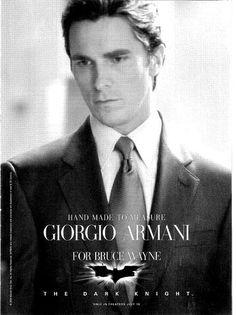 Old Advertisements: Bruce Wayne Wears Armani | Things Matter: A History Blog
