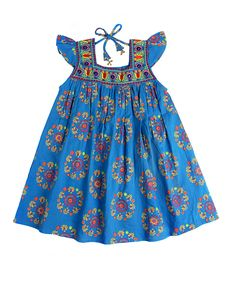 Blue Princess Dress & Bloomers - Toddler & Girls (Child of the World)