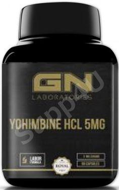 GN Laboratories Yohimbine HCL 5mg 90 Kapseln