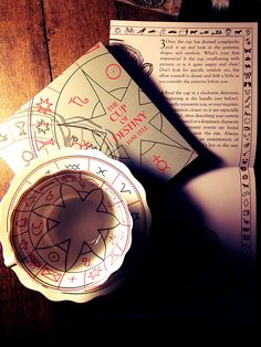 Cup Of Destiny Fortune Telling Teacup