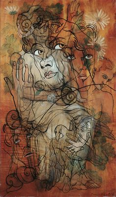 Mi (Transparences) by Francis Picabia, 1929