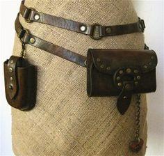 Double wrap adjustable belt  bag by Karen Kell by karenkell