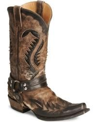 Silver Skull Boot Tips Breaking Bad Cowboy Boots