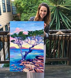 Hanging on the patio with bae . . . #artist #painter #oilpainting #oilpainter #art #artwork #sfart #sfartist #bayareaart #bayareaartist #californiaartist #california #californiacoast #montereybay #trees #sea #ocean #color #clouds #colorsplash #colorcolorcolor #creativehappylife #creative #fineart #instaartist #instaart #creative #ocean #artnews #artistsofinstagram #montereybaylocals - posted by Carrie Roberts https://www.instagram.com/carriedawaypaintings - See more of Monterey Bay at…