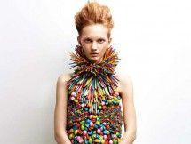 Colorful High Fashion Balloon Dress