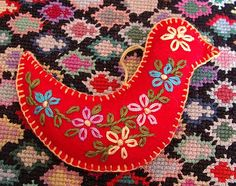 felt ornament dove | Flickr - Photo Sharing!