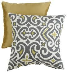 grey yellow and white damask fabric - Google Search
