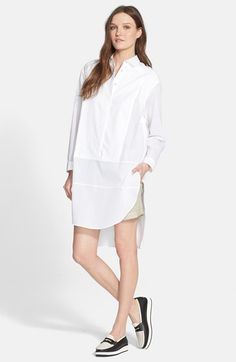 rag & bone 'Axis' Oversized Cotton Shirtdress available at #Nordstrom