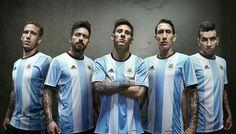 Nuevas camisetas del fútbol actual