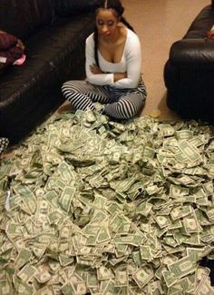 If she doesnt want to count the money, i will