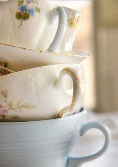 sweet vintage teacups