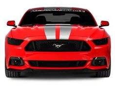 American Muscle V Series Stripes - silver or red