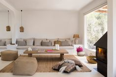 Interior design and exterior design country house in Ibiza. A restored country house where the essence of the rustic and mediterranean style you can feel it