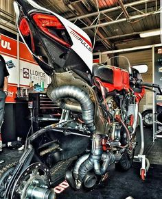 Ducati underbone view