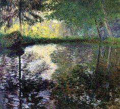 The Pond at Montgeron, Claude Monet, 1876