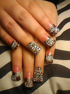 Classic french tips nail design for long nails sinaloa nails and classic french tips nail design for long nails sinaloa nails and beautiful nail designs prinsesfo Images
