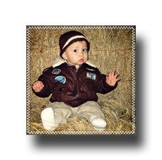 #bomber jacket for baby too cute #prideinphotos.com