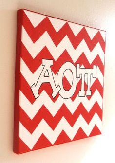 Classic Canvas #AlphaOmicronPi #AOPi #AOII